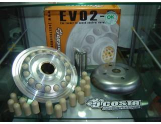 Вариатор J.COSTA на T-MAX 500 EVO 2 II Racing  все модели
